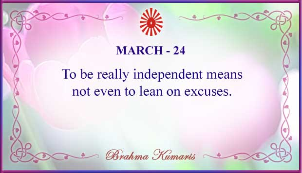 Thought For The Day March 24