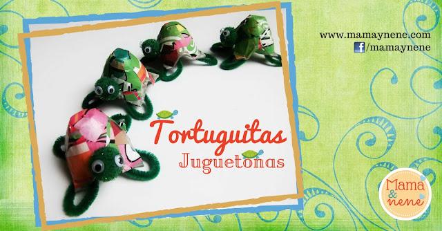 TORTUGAS-ESTIMULACION-MOTRICIDAD-BEBES-NIÑOS-MAMAYNENE