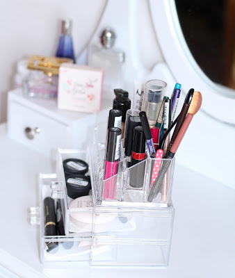 acryl make-up organizer