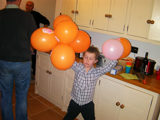 drunken child at new years eve party