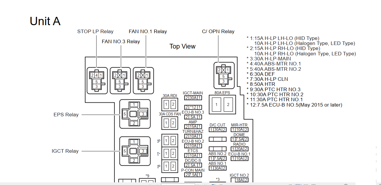 Toyota Auris Hybrid Vehicle  Em3045e   U2013 System Wiring Diagram