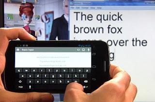 Smartphone tastiera