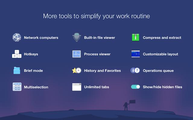 مراجعة برنامج Commander One الخاص بأجهزة الـ Mac و كيفية الحصول عليه مجانا بشكل قانوني !
