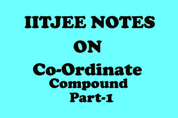 coordinate compound