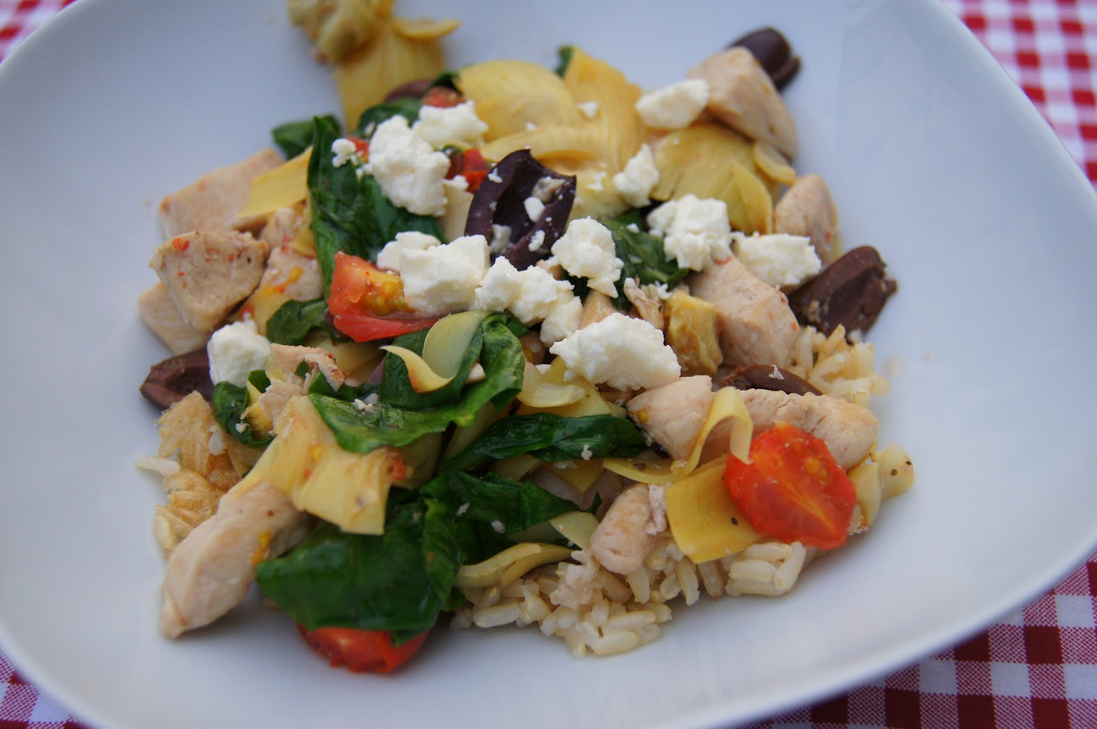 Sorry, that greek chicken with artichokes possible tell