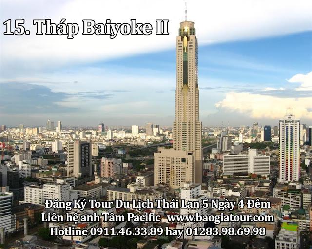 15. Tháp Baiyoke II