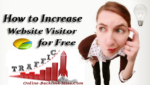 How to Increase Website Visitors For Free