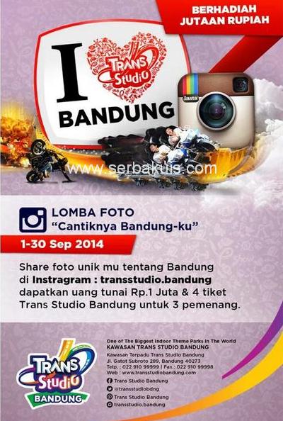 Kontes Foto Cantiknya Bandung-Ku Berhadiah Uang 1 JUTA & Tiket