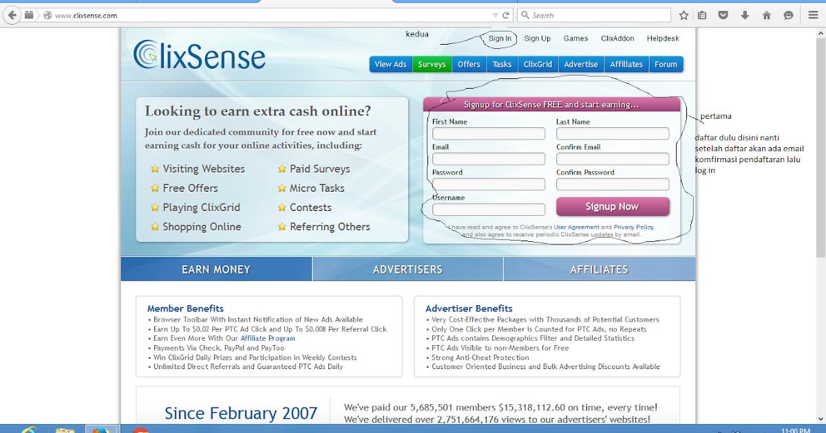 Cara Menghasilkan Uang Di Internet Cara Menghasilkan Uang Di Internet