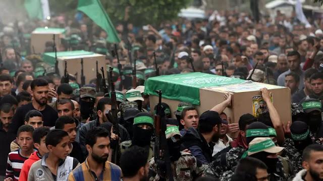 Drone Zionis Israel Serang Hamas di Gaza