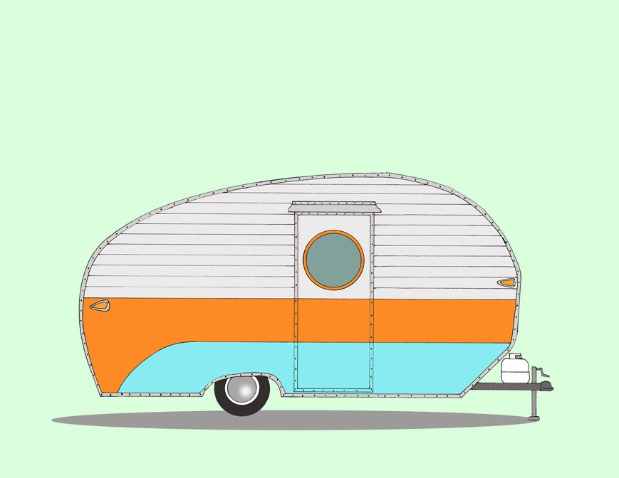 Art in Mind: Vintage Campers, a new series