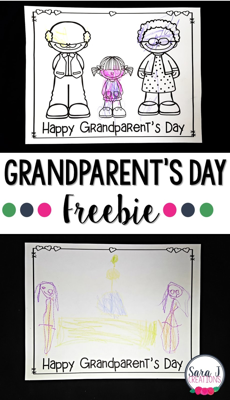 FREE grandparent's day printable gift idea