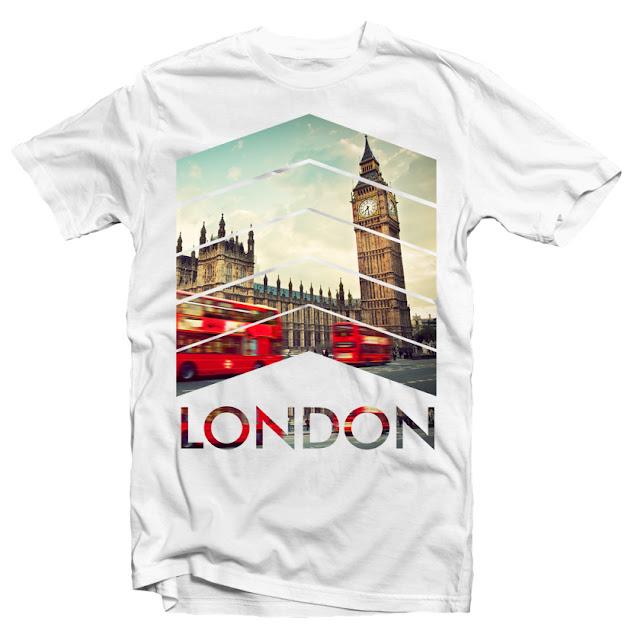 london tshirt design