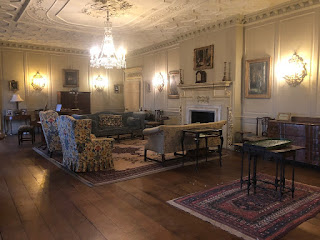 The saloon at Croft Castle