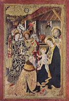 Adoração dos Magos - Jaime Huguet ~ Gênios da pintura ~ Estilo Gótico