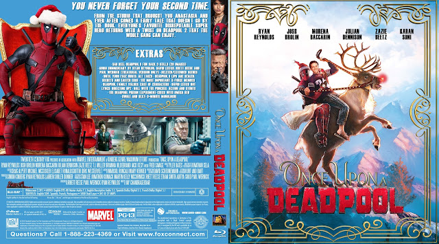 Once Upon a Deadpool Bluray Cover
