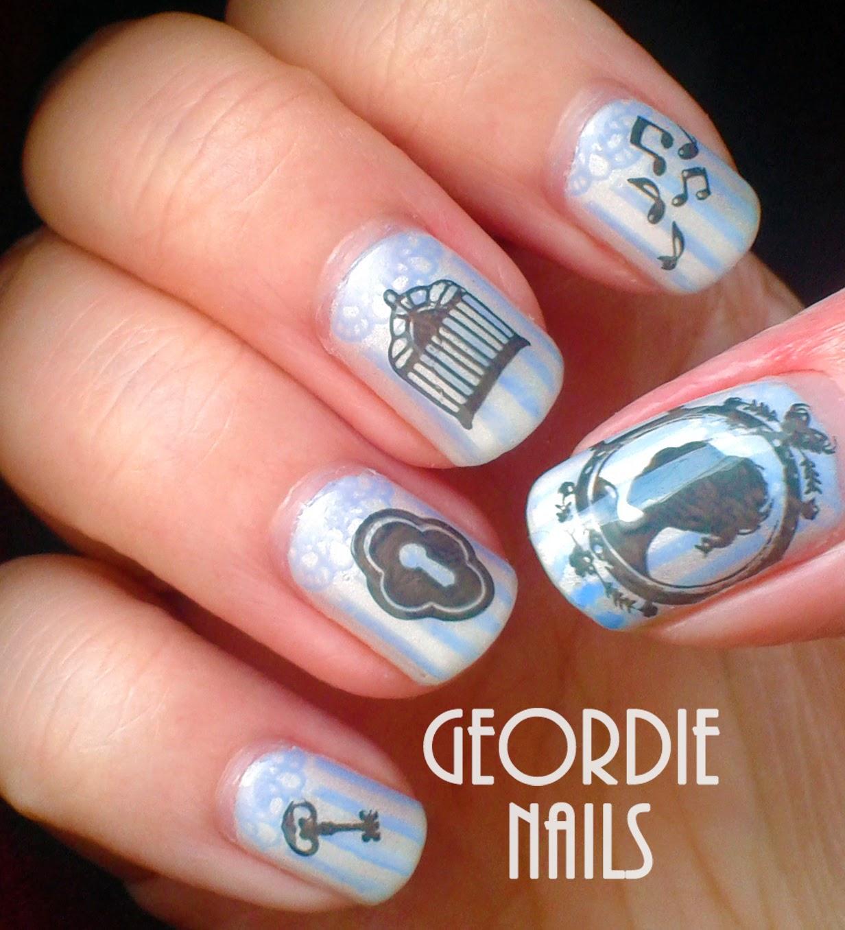 Geordie Nails: Victorian Manicure