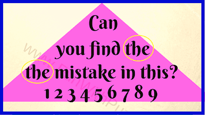 This is the answer image of Spot the Mistake in the Picture Puzzle