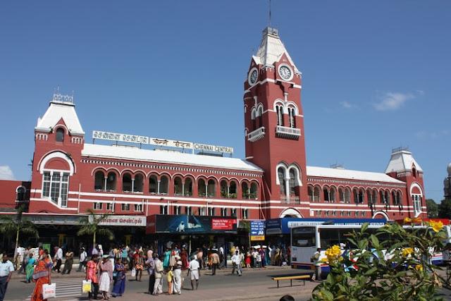 Chennai-India-Tamil-Nadu-Madras-Madras-Central-Madras-Central-South-india-train-station