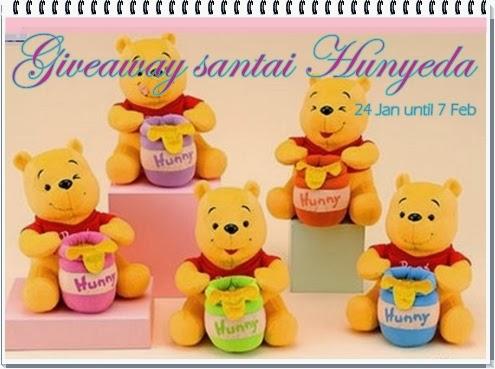 Giveaway Santai Hunyeda