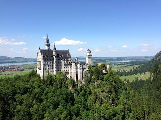 Diese Wanderung auf den Tegelberg begann dort, wo die letzte endete - am Schloss Neuschwanstein