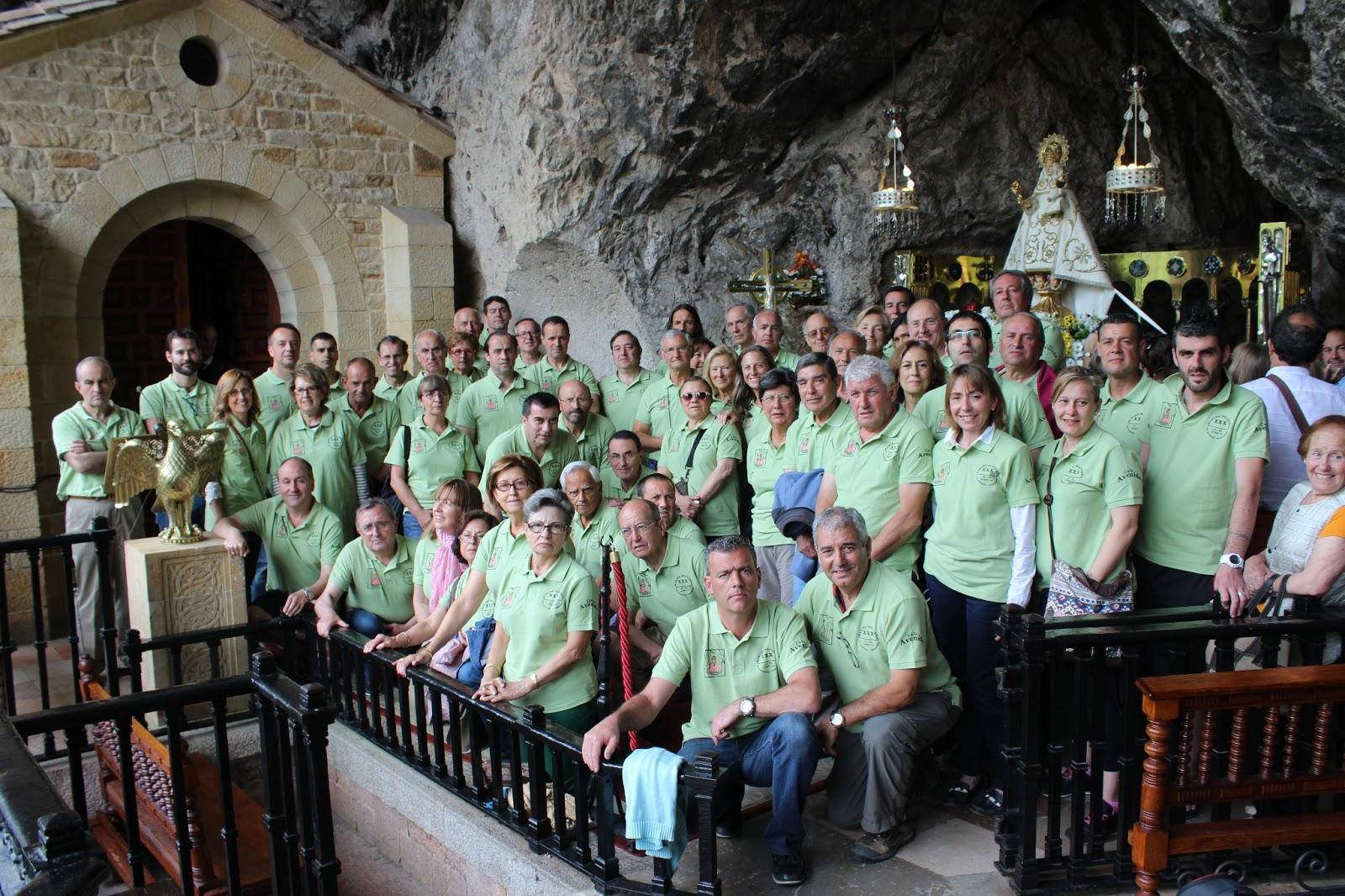 Se Celebró La XXX Marcha Nocturna Villaviciosa   Covadonga. Se Salió De  Villaviciosa A Las 21,30 Horas Del Día 21 De Junio, Muy Puntuales, ...