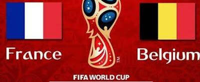 موعد عرض مباراة فرنسا وبلجيكا من كأس العالم 2018 والقنوات الناقلة لها