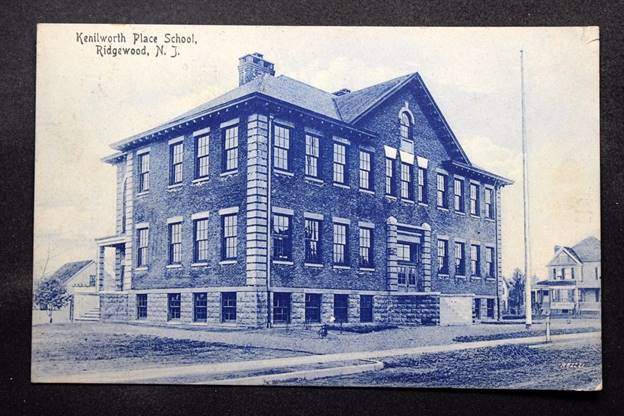 Kenilworth Place School, Ridgewood, New Jersey (Image courtesy EBay seller)
