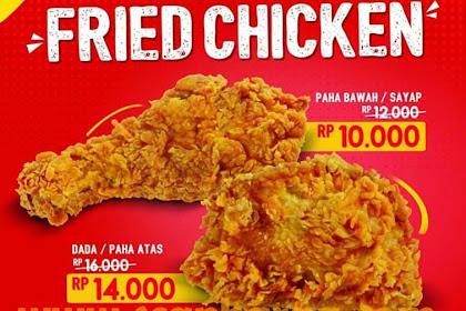 Harga Promo Indomaret Fried Chicken April 2019
