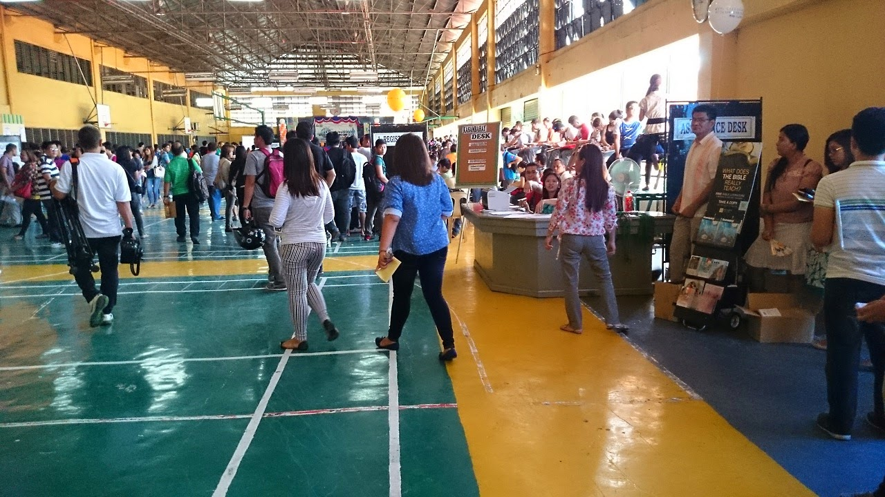 Ярмарка вакансий в Себу, Филиппины.