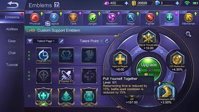 Fungsi dan Kegunaan Emblem di Mobile Legends