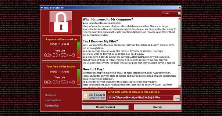 Wana-Decrypt0r-WannaCry-Ransomware