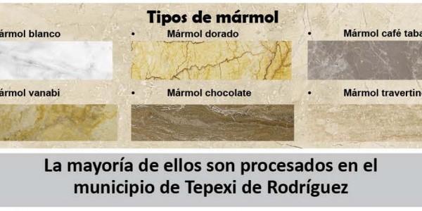 Tepexiderodr guez la industria marmolera motor for De donde se extrae el marmol