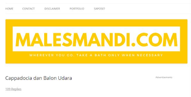 Malesmandi.com - Blog Travel Terbaik Di Indonesia