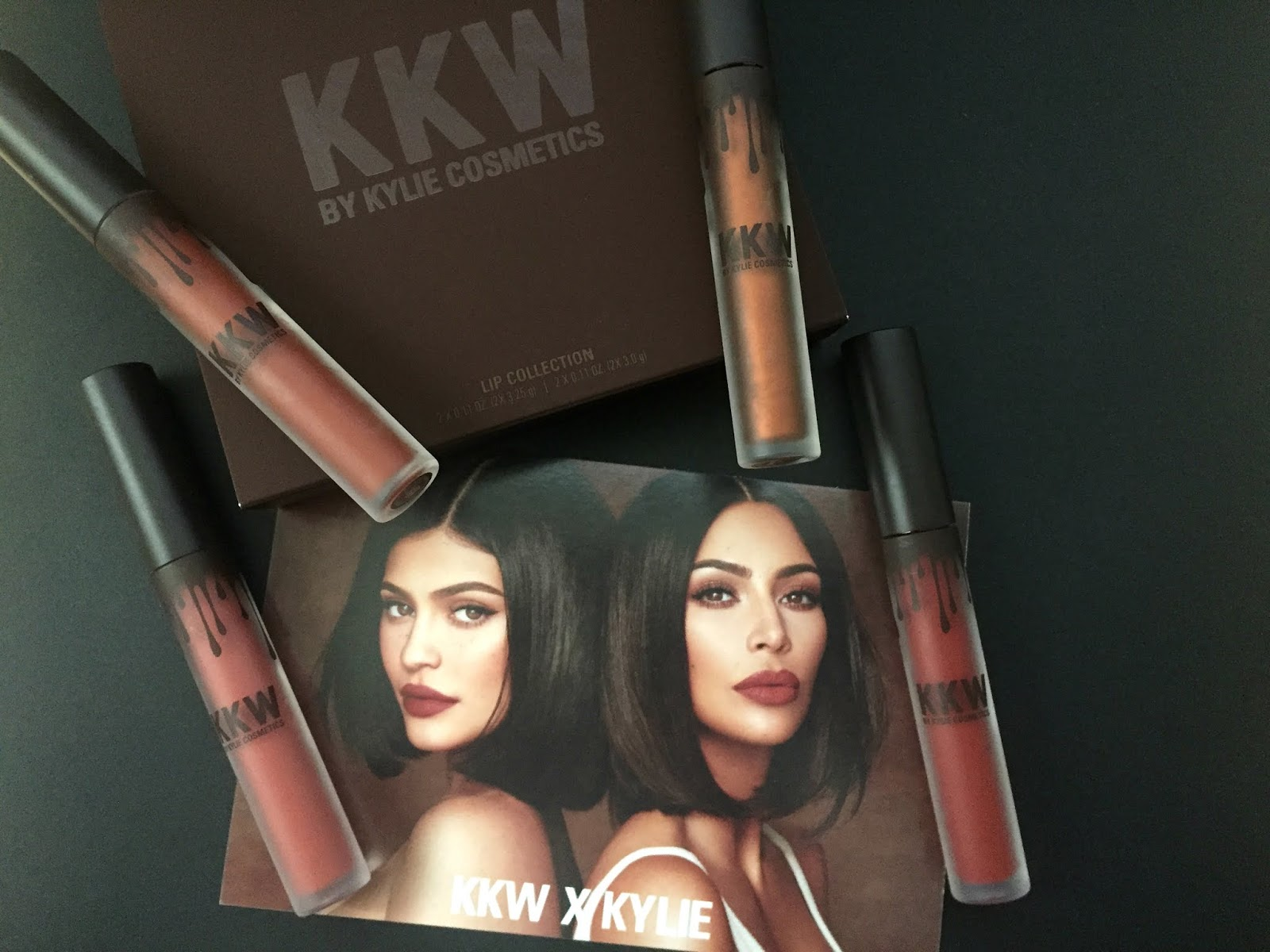 KKW x Kylie Cosmetics Lip Set Collection Review, Swatches
