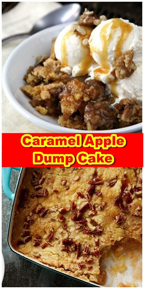 Caramel Apple Dump Cake