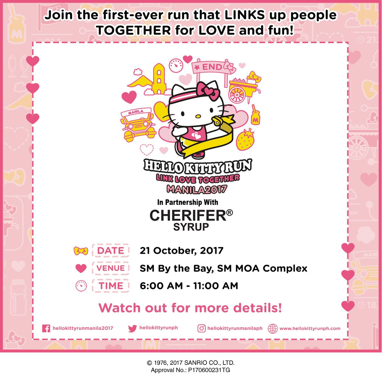 Hello Kitty Girls! Whou0027s Not Excited About This? At Last Itu0027s Happening  Here! The Website Was Launched Today At 12 Noon. Hellokittyrunph.com And ...