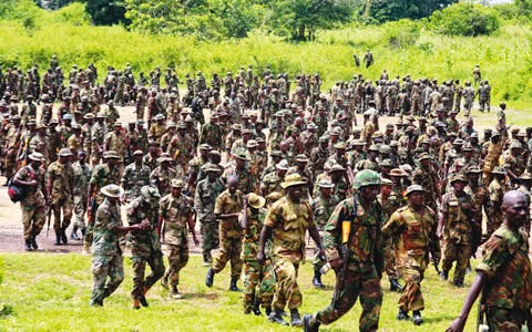 nigerian soldiers cameroon