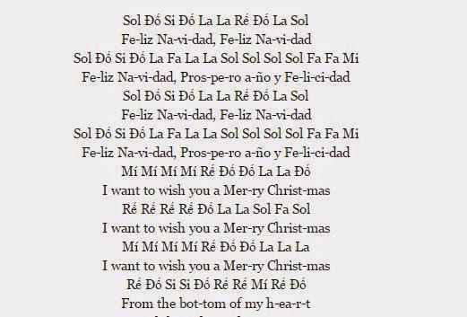 Cảm âm bài Feliz Navidad