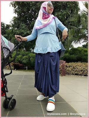 baju menyusui muslimah