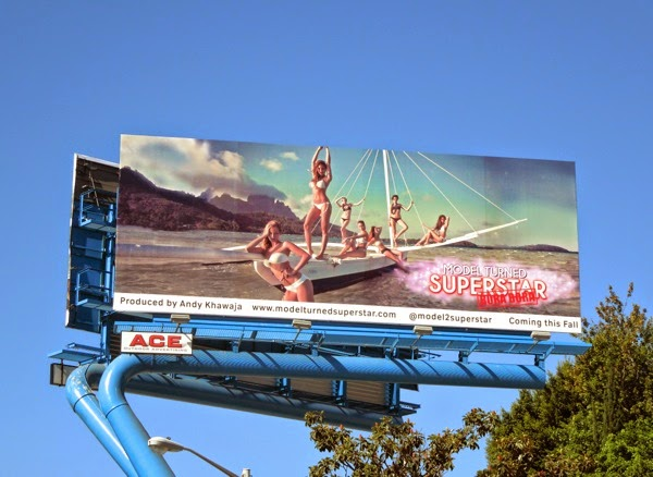 Model Turned Superstar Bora Bora billboard