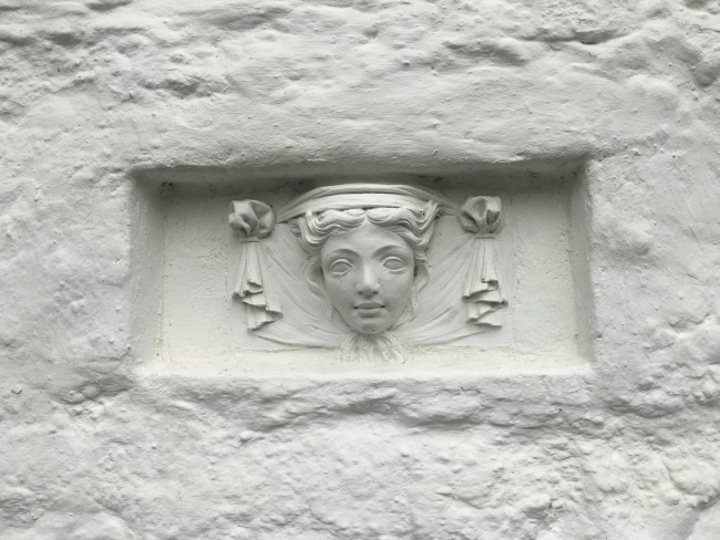 Portmeirion-Wales-detail-womans-face