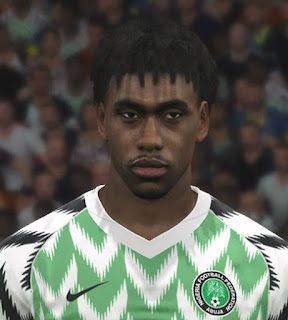 PES 2017 Faces Alex Iwobi by Ben Hussam FaceMaker