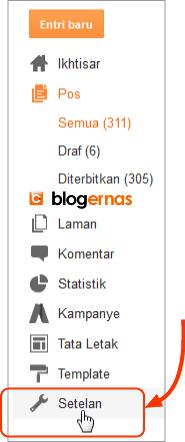 Cara Menampilkan Kotak Deskripsi Penelusuran Blogger