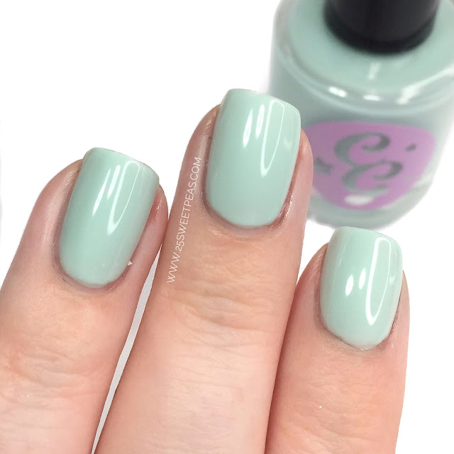 Chaotic Glitz Mint Green