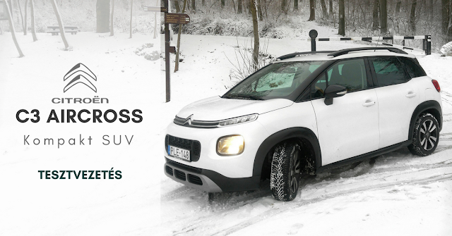 SUVagany TESZT | Citroen C3 Aircross SUV noi szemmel