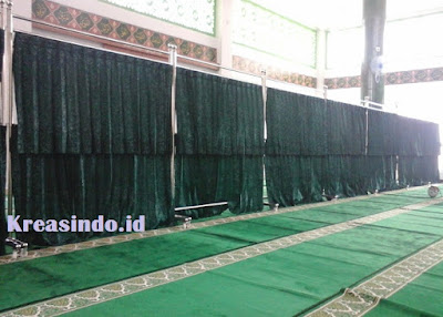 Jasa Hijab Masjid Stainless di Bekasi dan Sekitarnya
