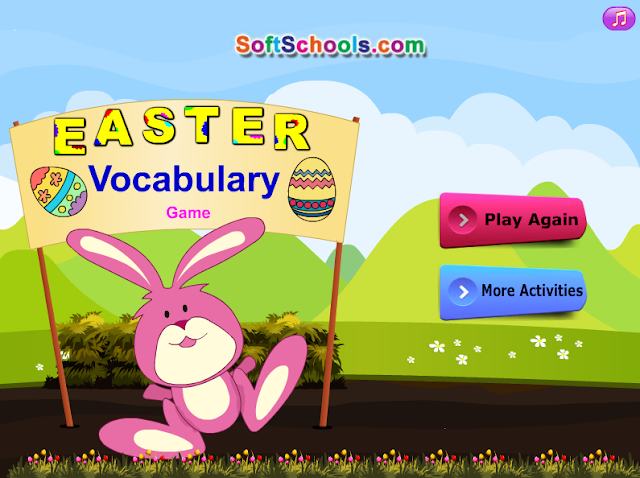 http://www.softschools.com/themes/easter/games/easter_vocabulary_game/