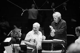 John Nelson rehearsing Berlioz's Les Troyens (Photo Gregory Massat)