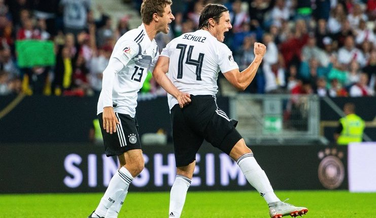 Jerman Tekuk Rusia Tiga Gol Tanpa Balas